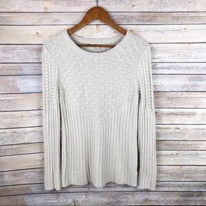 Stitch Fix 41Hawthorn Poppy Textured Sweater Sz S